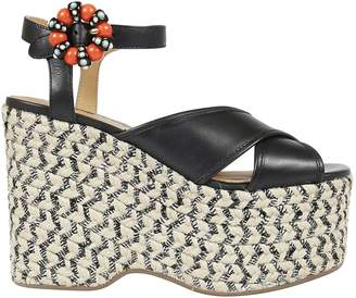 Marc Jacobs Rowan Espadrillas Wedge Sandals