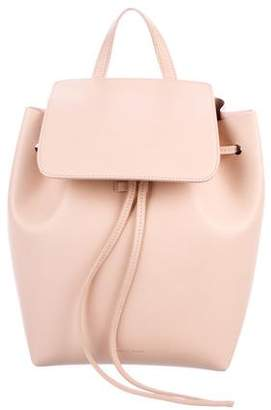 Mansur Gavriel Vegetable-Tanned Leather Backpack