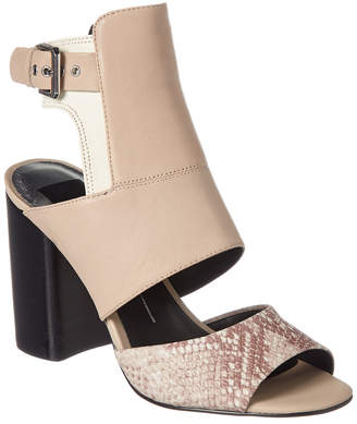 Dolce Vita Romeo Snake-Embossed Leather Sandal