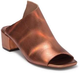 Kelsi Dagger Brooklyn Sabra Peep Toe Slide Sandal