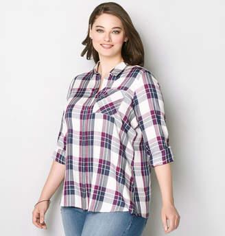 Avenue One Pocket Plaid Shirt