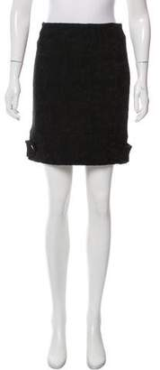 Yigal Azrouel Wool Mini Skirt