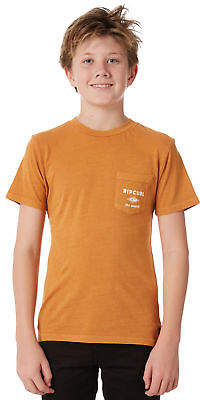 Rip Curl New Boys Kids Boys Crafter Tee Orange