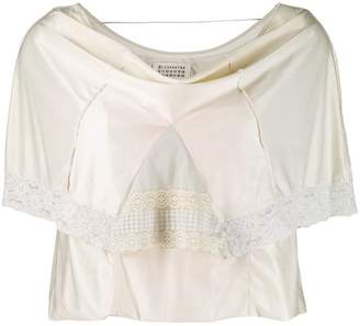 Maison Margiela Pre-Owned lace overlay blouse