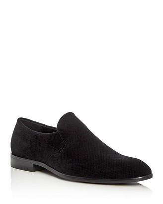 BOSS Dressapp Velvet Loafers $275 thestylecure.com