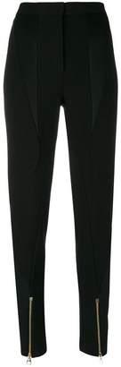 Versace paneled zipped cuff trousers