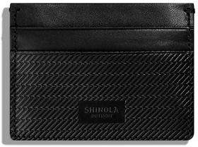 Shinola Men's Leather 5-Pocket Card Case 2.0