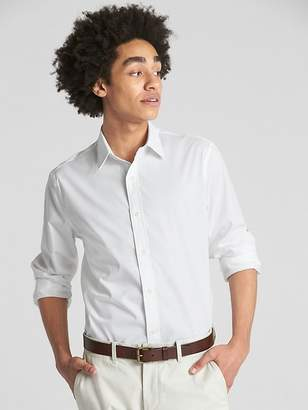 Gap Zero-Wrinkle Pattern Shirt