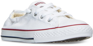 Converse Girls' Chuck Taylor All Star Shoreline Slip On Casual Sneakers from Finish Line $34.99 thestylecure.com