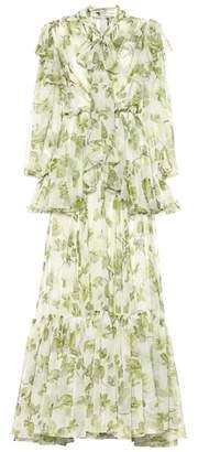 Dolce & Gabbana Silk chiffon gown