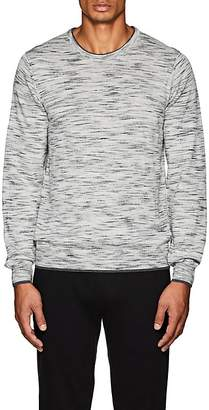Barneys New York MEN'S SPACE-DYED WOOL SWEATER
