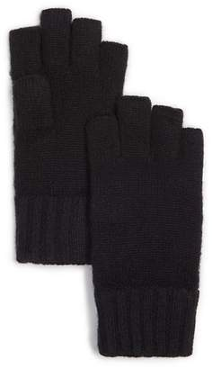 Bloomingdale's The Men's Store at Cashmere Fingerless Gloves - 100% Exclusive
