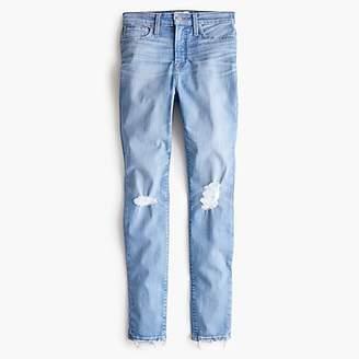 J.Crew Curvy toothpick jean in medium blue
