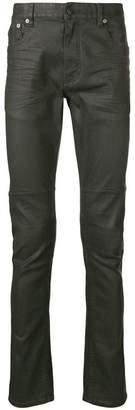 Belstaff waxed slim jeans