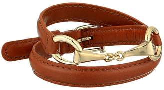 Lauren Ralph Lauren Saddle 16 Leather Wrap Bracelet Bracelet