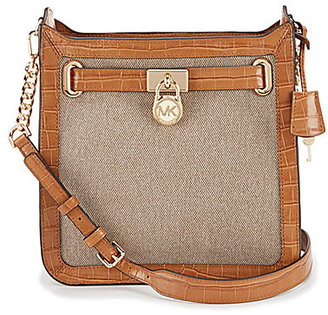 MICHAEL Michael Kors Studio Hamilton North/South Cross-Body Bag $248 thestylecure.com