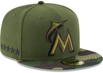 New Era Miami Marlins Memorial Day 59FIFTY Cap
