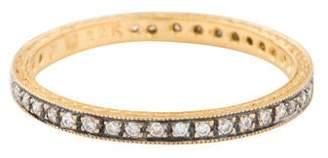 Cathy Waterman 22K Diamond Eternity Ring