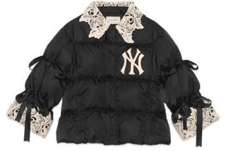 Gucci Women's nylon jacket with NY YankeesTM patch