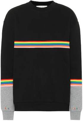 Être Cécile Striped cotton sweatshirt