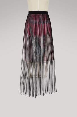 Balenciaga New York City midi skirt