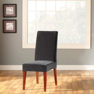 Sure Fit Stretch Pin-Striped Dining Chair Slipcover