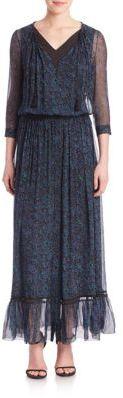 Elie Tahari Amber Silk Dress $498 thestylecure.com