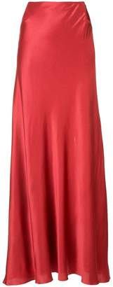 Alberta Ferretti long a-line skirt