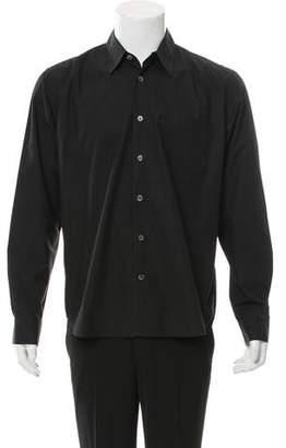 Ann Demeulemeester Point Collar Button-Up Shirt