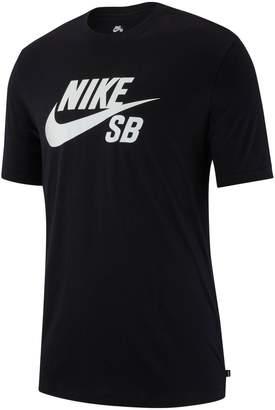 Nike Logo Cotton Blend Jersey Tee