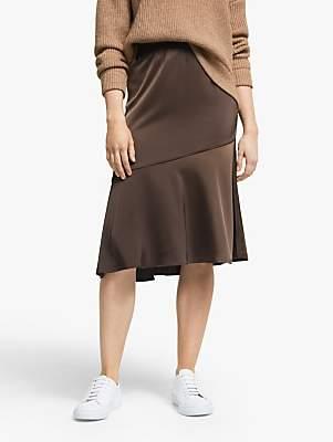 Vero Moda AWARE BY Satin Peplum Skirt, Shopping Bag