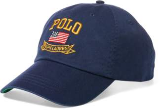 Ralph Lauren Flag Baseball Cap