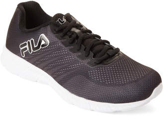 Fila Black & Silver Windracer 3 Running Sneakers