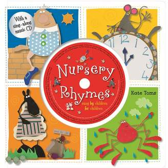 Toms Kohl's Kate Nursery Rhymes Book & CD Set