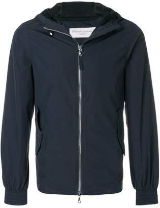 Officine Generale zipped hooded jacket