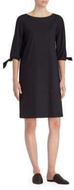 Lafayette 148 New York Elaina Tie-Cuff Dress