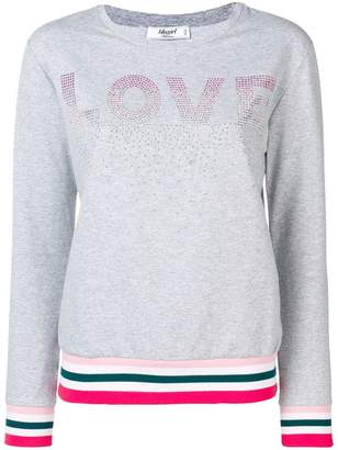 Blugirl Love sweatshirt