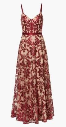 Gina Bacconi Violetta Sequin Dress