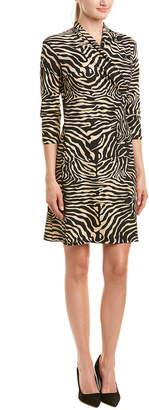 J.Mclaughlin Faux-Wrap Catalina Cloth Dress