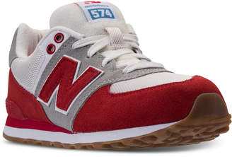 New Balance Boys' 574 Retro Sport Casual Sneakers from Finish Line