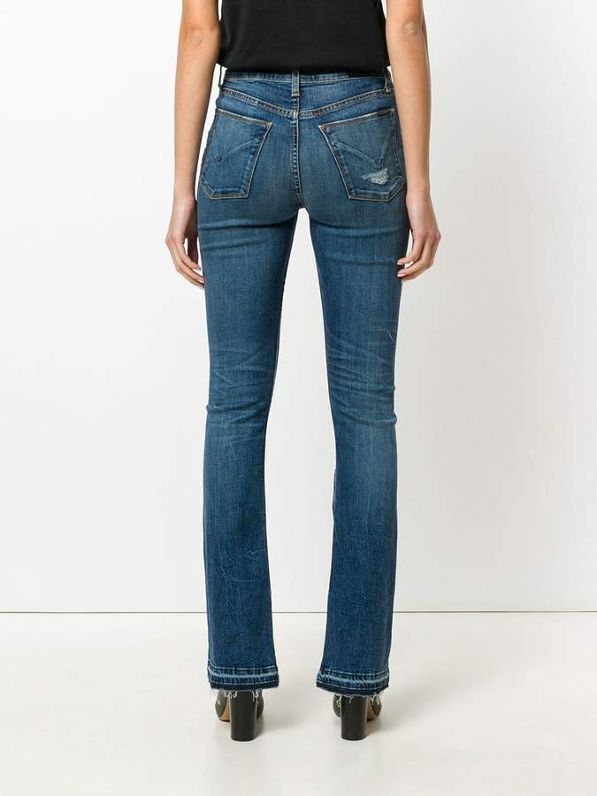 Hudson faded bootcut jeans