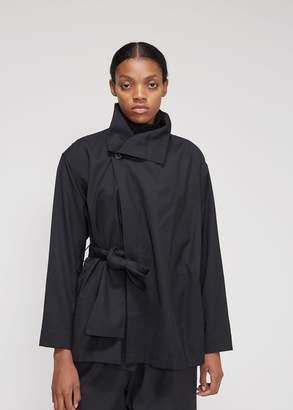 Issey Miyake 132 5 Short Draped Overcoat