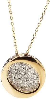 Antonini 18K Yellow Gold Diamond Atolli Medium Pendant Necklace, 16
