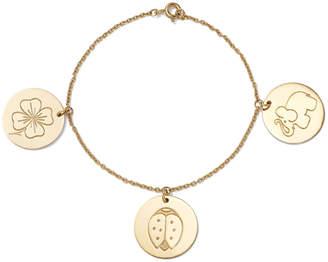 Aurelie Bidermann Medals Bracelet