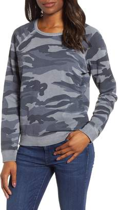 Lucky Brand Camo Print Sweatshirt