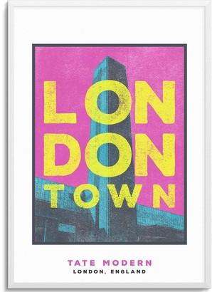 Jando Tate Modern London Town Series A3 Print