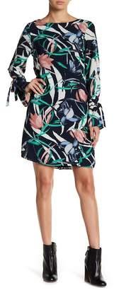 Vero Moda Lihn Long SLeeve Printed Dress