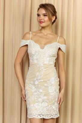 Elegance By Sarah Ruhs Off Shoulder Lace