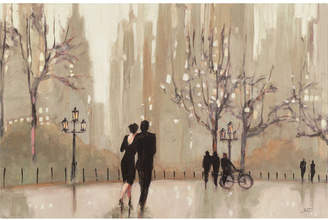 Trademark Art 'An Evening Out Neutral' by Julia Purinton Framed on Canvas