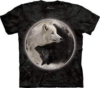 The Mountain Ying Yang Wolves T-Shirt